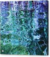 Weed Shadows Acrylic Print