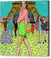 Weekend In Paris Acrylic Print