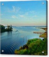 Weeks Bay Going Fishing Acrylic Print