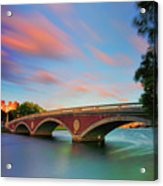 Weeks' Bridge Acrylic Print by Rick Berk