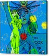 Weeping Liberty Acrylic Print