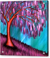 Weeping Willow II Acrylic Print by Brenda Higginson