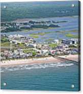 Welcome Aboard Surf City Topsail Island Acrylic Print