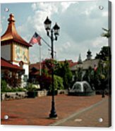 Welcome Center At Frankenmuth Acrylic Print