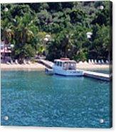 Welcome To Cooper Island Acrylic Print