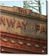 Welcome To Fenway Park Acrylic Print