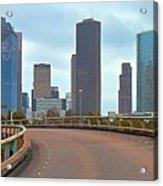 Welcome To Houston Acrylic Print