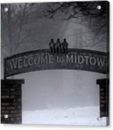 Welcome To Midtown Acrylic Print