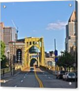 Welcome To Pittsburgh Pa Acrylic Print