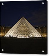 Welcome To The Louvre Acrylic Print
