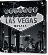 Welcome To Vegas Xi Acrylic Print