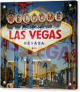Welcome To Vegas Xiii Acrylic Print