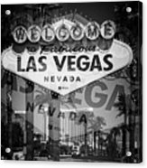 Welcome To Vegas Xiv Acrylic Print