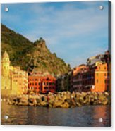 Welcome To Vernazza Acrylic Print