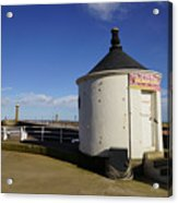 Welcome To Whitby Acrylic Print
