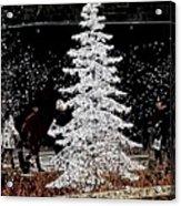 Welcome Winter Acrylic Print