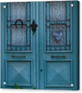 Welcoming And Beautiful Entrance Acrylic Print