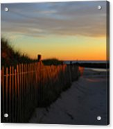 Welcoming The Day Acrylic Print
