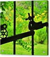 Welded Garden Gate Acrylic Print