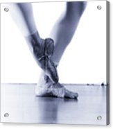 Well Loved Ballet Slippers Acrylic Print