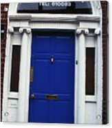 Well Woman Door In Dublin Acrylic Print