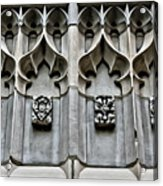 Wellesley College Tower Court Detail Acrylic Print