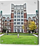 Wellesley College Tower Court Acrylic Print