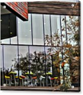 Wellesley College Wang Campus Center Detail Acrylic Print