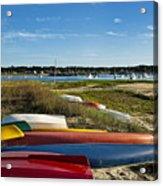 Wellfleet Harbor Cape Cod Acrylic Print