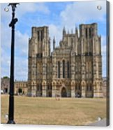 Wells Cathedral Acrylic Print
