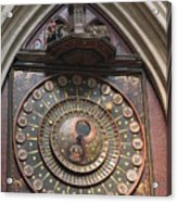 Wells Cathedral Astronomical Clock Acrylic Print