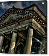 Well's Cathedral Acrylic Print by Rick Greene