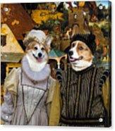 Welsh Corgi Pembroke Art Canvas Print - The Dutch Proverbs Acrylic Print