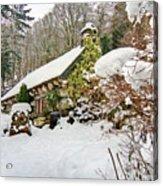 Welsh Cottage Acrylic Print