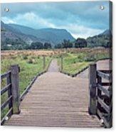 Welsh Landscape Acrylic Print