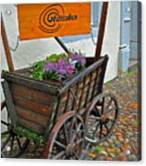 Weltladen Cart Acrylic Print