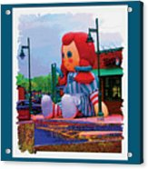Wendy Acrylic Print