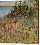 Wendy's Wildflowers Acrylic Print