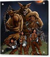 Werewolf Transformation Acrylic Print