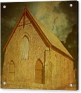 Wesley Church, Greenough, Western Australia Acrylic Print
