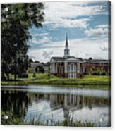 Wesleyan Chapel Acrylic Print