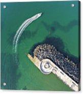 West Bay Pier Head Acrylic Print