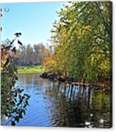 West Branch Iowa River Acrylic Print