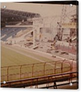 West Bromwich Albion - The Hawthorns - Halfords Lane West Stand 2 - Construction - 1980 Acrylic Print