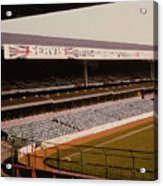 West Bromwich Albion - The Hawthorns - Rainbow Stand 1 - 1980s Acrylic Print