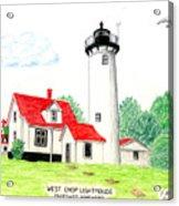 West Chop Lighthouse Acrylic Print