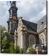 West Church Westerkerk Acrylic Print