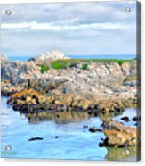 West Coast Seascape 3 Acrylic Print