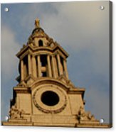 West Front Of St. Paul's Cathedral, London Acrylic Print