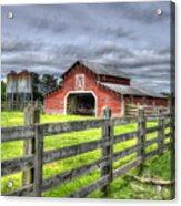 West Georgia Barn Acrylic Print